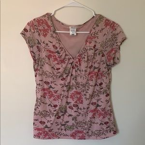 Old navy perfect fit floral blouse